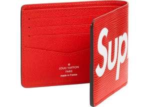Louis-Vuitton-Slender-Waller-Epi-Supreme-Red