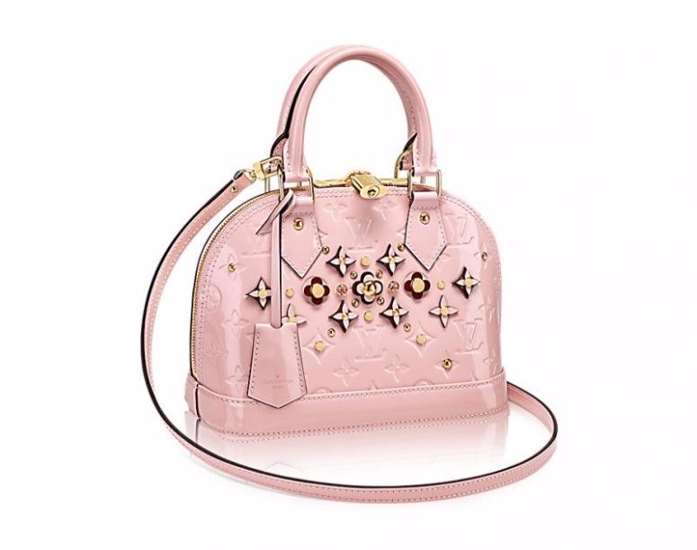 Louis Vuitton Vernis Alma Bb Rose Ballerine M90989 I Love Bags Online
